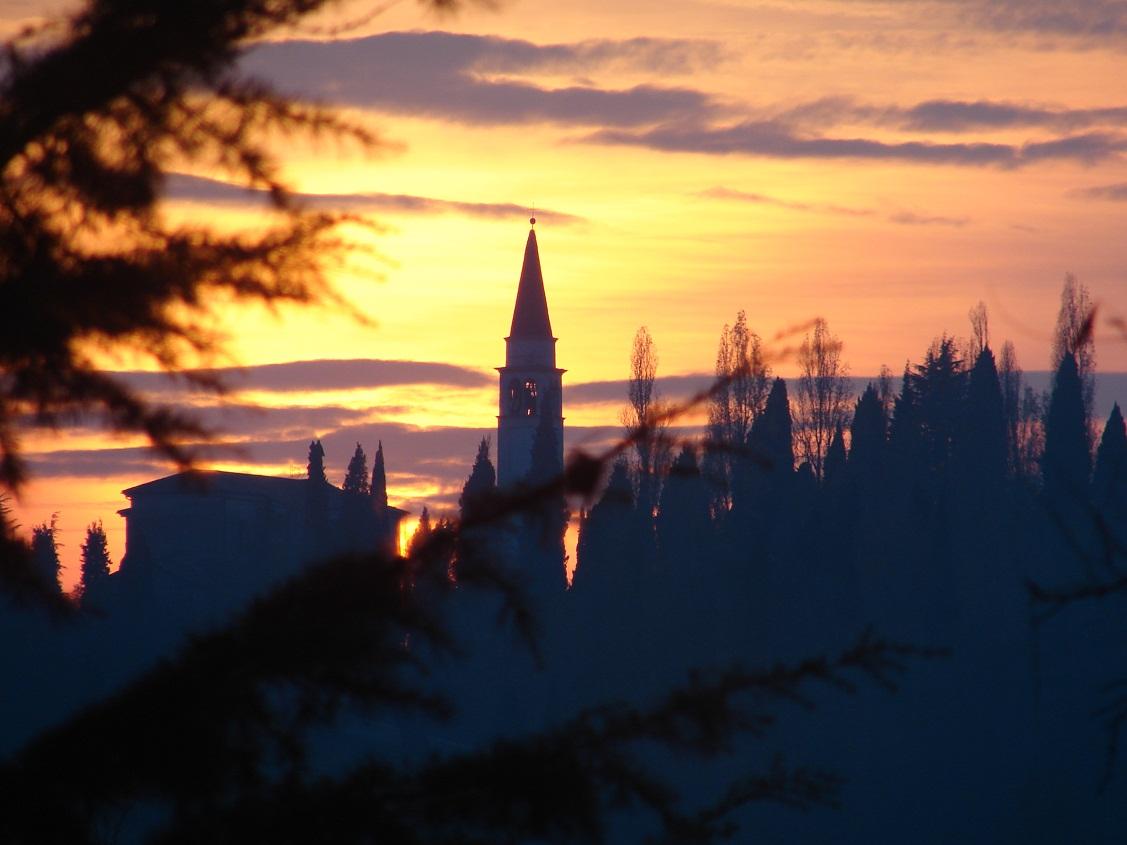 santuario-tramonto