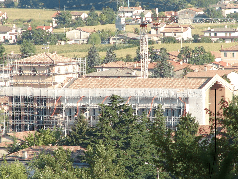 ristrutturazione 2007 lato nord